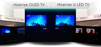 Hisense CES Releases Next Generation ULED TV to Compete with OLED TV
