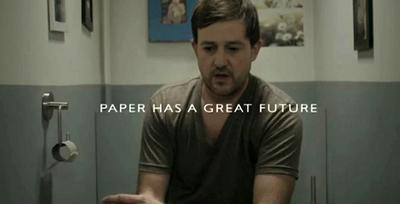 Paper has a great future