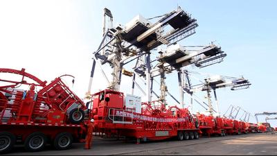 Jereh high-end equipment shipping to PDVSA, Venezuela