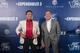 Sylvester Stallone and Arnold Schwarzenegger walk the red carpet at The Venetian Macao Friday for Asia's only special screening of their latest blockbuster film, The Expendables 3.