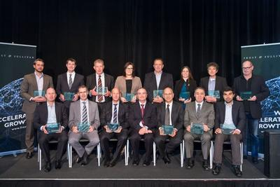 Recipients of the 2014 Frost & Sullivan New Zealand Excellence Awards