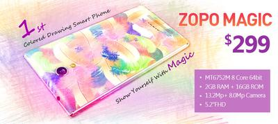 ZOPO's first colored drawing smartphone ZOPO Magic