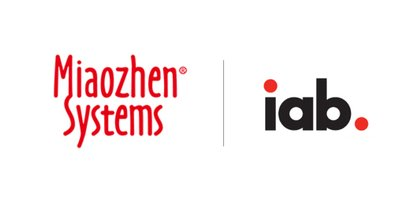 Logos of Miaozhen Systems and IAB