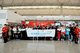 """Hong Kong Airlines co-organized """"Fly with Faith-Taipei Tour for Seniors"""" with Pok Oi Hospital on 26 November. A launching ceremony was held at Hong Kong International Airport to kick start the event"""