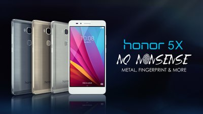 honor 5X -- no nonsense, all essential