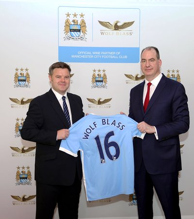 Wolf Blass and Manchester City Signing Ceremony