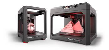 The MakerBot new 3D Printers feature larger build tray, faster print speed and more reliable 3D printing experience