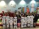 These children played as astronauts, flight attendants and announcers