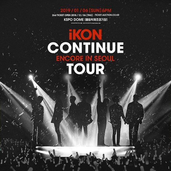 iKON CONTINUE TOUR ENCORE IN SEOUL
