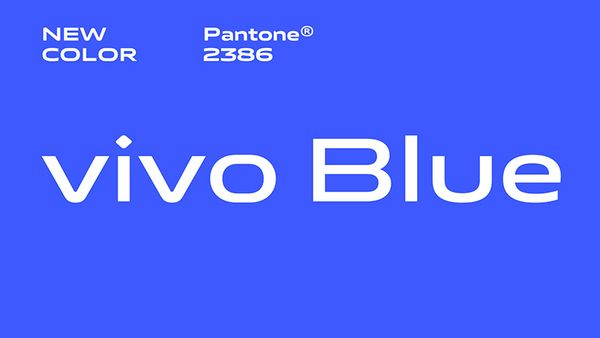 The official Vivo Blue color is more saturated and designed to be soothing to the eye