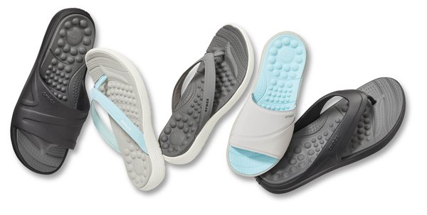 The new Reviva by Crocs(TM) Collection delivers revitalizing bounce and all-day comfort.