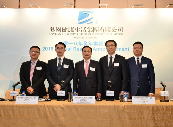 Left to right: Chief Financial Officer and Director of Financial Management Division, Mr. Xu Xiaodong, Executive Director, Mr. Tao Yu, Chairman of the Board and Non-executive Director, Mr. Guo Zining, Non-executive Director, Mr. Chen Zhibin and Chief Operating Officer