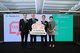 (From left to right) Wilton Kee, Chief Product Officer, Individual Financial Products at Manulife Hong Kong; Guy Mills, CEO of Manulife Hong Kong; Raymond Ng , Head of Employee Benefits at Manulife Hong Kong; and Ellen Leung, CEO of Manulife Provident Funds Trust Co., today celebrate the launch of the company's new tax-deductible health and retirement offerings.