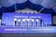 江苏省委常委、苏州市委书记周乃翔(中)、苏州市委副书记、市长李亚平(右三)等领导及重塑科技董事长兼CEO林琦(右一)在现场共同启动产业园项目