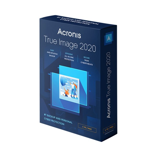 Acronis True Image 2020, the ultimate protection against malware