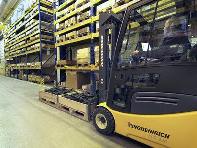 Jungheinrich Offers Automated Pallet Identification Solutions