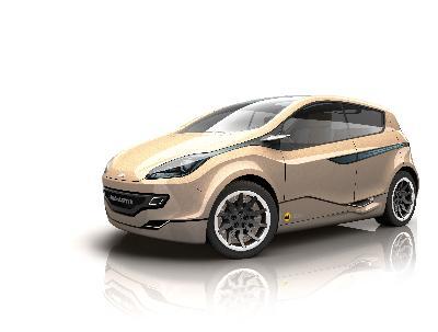 麦格纳米拉电动车亮相日内瓦车展