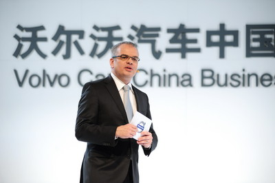 Mr. Stefan Jacoby, President & CEO Volvo Car Corporation, to address the meeting
