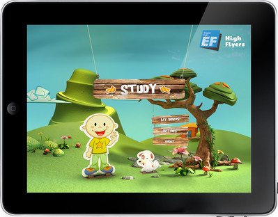 EF's Breakthrough App for Kids Learning English, Ranks #1 Free Education App on iTunes