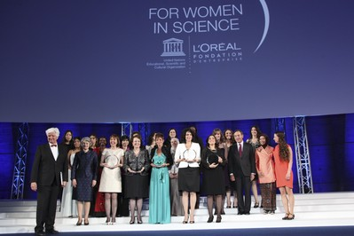 14th Ceremony for the L'Oreal-UNESCO Awards for Women in Science: L'Oreal and UNESCO Renew Their Support for Science