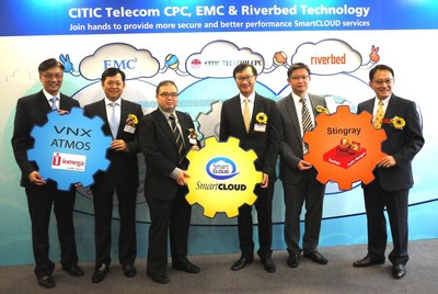 CITIC Telecom CPC partners with EMC and Riverbed Technology to Enhance SmartCLOUD Capabilities