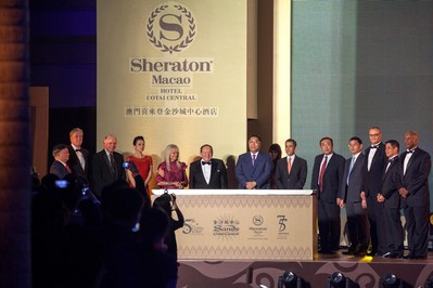 Starwood Hotels Celebrates Landmark Opening of Sheraton Macao Hotel, Cotai Central -- the Largest Hotel to Open Worldwide in 2012