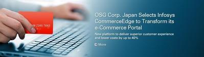 日本欧士机选择 Infosys CommerceEdge 帮助其实现电子商务门户的转型