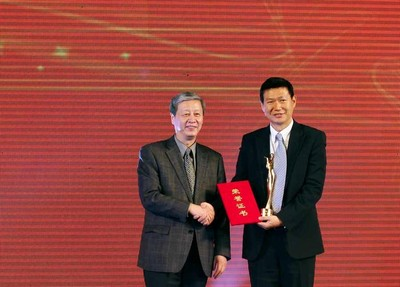Chi Yufeng Honored as Chinese Culture Industry Figure of 2012