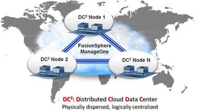 Huawei Launches Next Generation Data Center Architecture for the Cloud Era