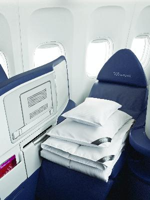 Delta Air Lines to Offer Westin Heavenly In-Flight Bedding in BusinessElite