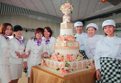 Couture定制深圳首位顾客的皇室奢华婚礼蛋糕,艺术技师也是亮点!