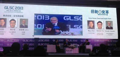 Mr. Alexander Oezbahadir, Managing Director of Jungheinrich Attended 2013 Global Logistics and Supply Chain Conference