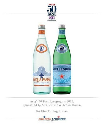 S. Pellegrino & Acqua Panna Asia Best 50 Limited Edition Bottles are Now in Hong Kong