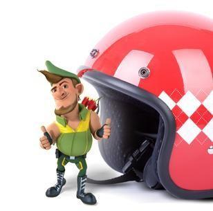 Robin Hood gives DirectAsia.com Hong Kong's new motorcycle insurance the thumbs up!