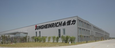 Jungheinrich new plant located in Qingpu, Shanghai