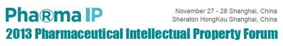 2013 Pharmaceutical Intellectual Property Forum is Coming in November