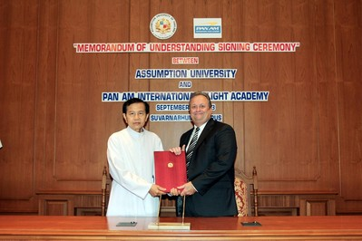 Pan Am International Flight Academy and Assumption University of Thailand Opening Simulator Training Center