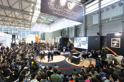 China Barista Championship Final at HOTELEX 2013